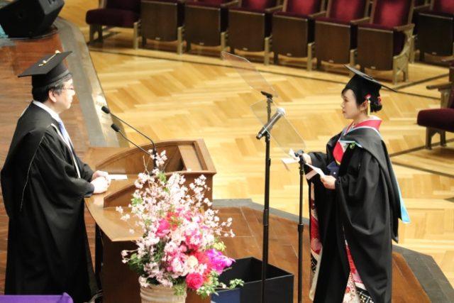 東大 卒業式 2020年 代表者 ネット配信 画像付き